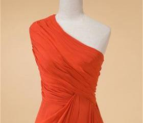 Orange One Shoulder ..